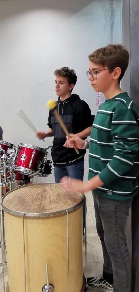 PopUp-Samba beim Weihnachtlichen Abend!